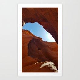 Antelope  Canyon  #11 Art Print