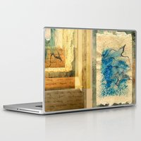 letter Laptop & iPad Skins featuring Letter by Irmak Akcadogan