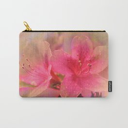 Flowers in a golden glow Carry-All Pouch