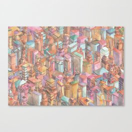Continuous New York City Canvas Print