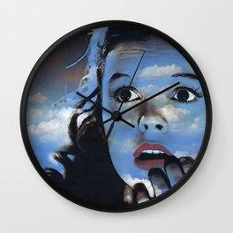 Judy in Clouds II Wall Clock