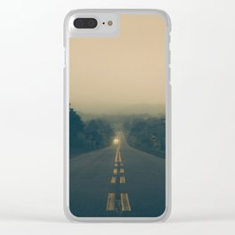 Morning Walk Clear iPhone Case