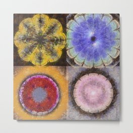 Ergastic Entity Flower  ID:16165-005314-25310 Metal Print