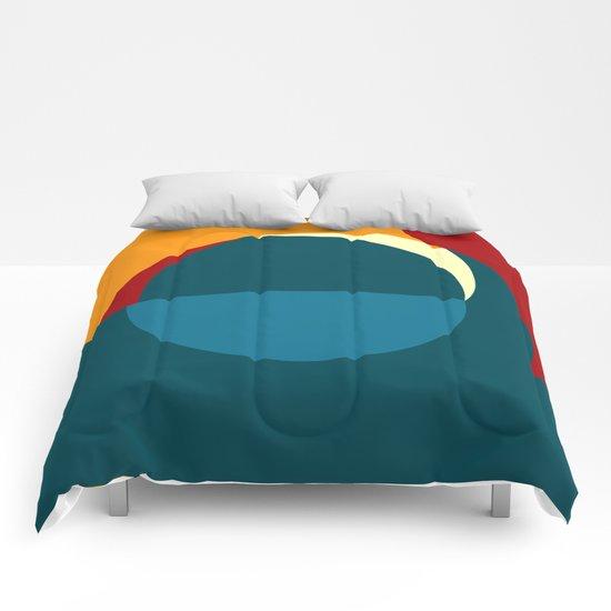 """Mezzogiorno nella Notte (della serie """"La Teoria del Colore"""") Comforters"""