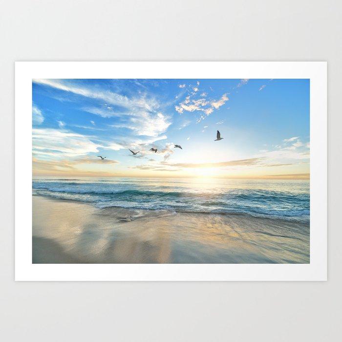Beach Scene 34 Kunstdrucke