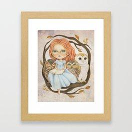 Autumn Tales Framed Art Print