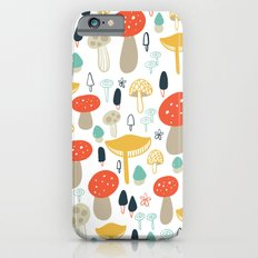 Forest Mushrooms Slim Case iPhone 6s