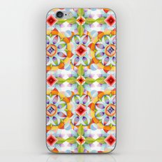 Flower Garden Kaleidoscope iPhone & iPod Skin
