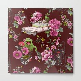 Ecto Floral Metal Print
