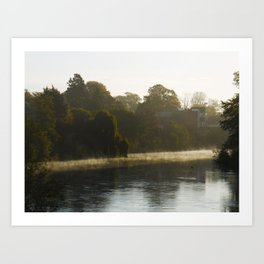 The carm before the storm. Art Print
