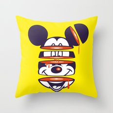 Defragmented!  Throw Pillow