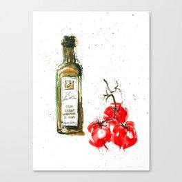 Cucina italiana Canvas Print