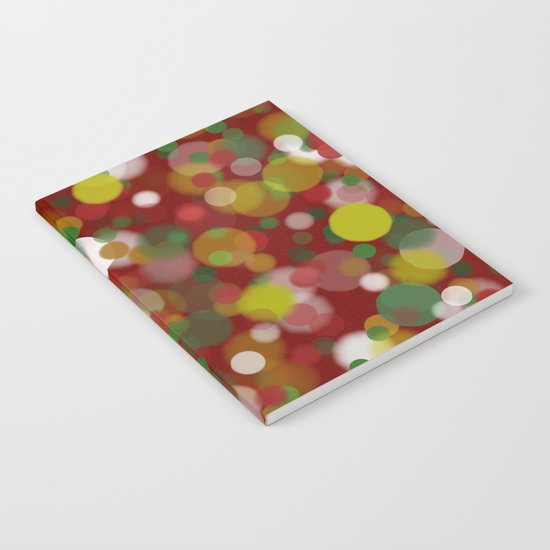 Christmas Bokeh Notebook