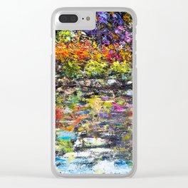Hidden Peace by Sher Nasser Artist Clear iPhone Case