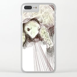 Tortoise power! Clear iPhone Case