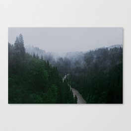 Bavarian Fog Canvas Print