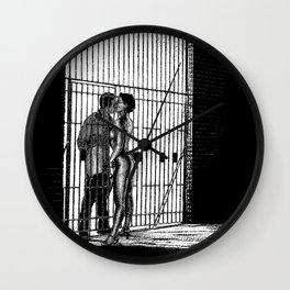 asc 933 - Les amants maudits (Two sides) Wall Clock