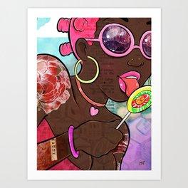 CandyGrrl Art Print