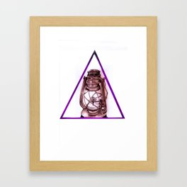 Trees Please: Simple Version Framed Art Print