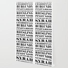Wine Celebration - White Wallpaper