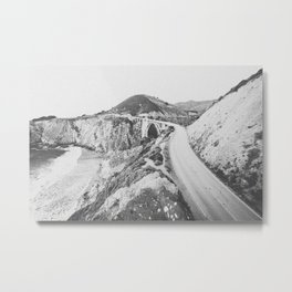 BIXBY BRIDGE / California Metal Print