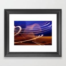 Vapour Trails Framed Art Print
