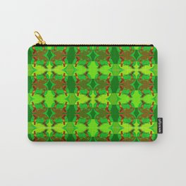Patternplay by green tones ... Carry-All Pouch