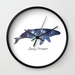 Lonely Dreamer 2 Wall Clock