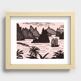 Halong Bay, Vietnam Recessed Framed Print