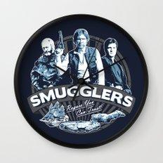 Smugglers Three Wall Clock