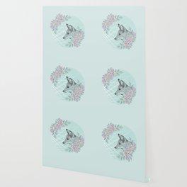 Pastel Fox Wallpaper