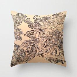 Rips Throw Pillow