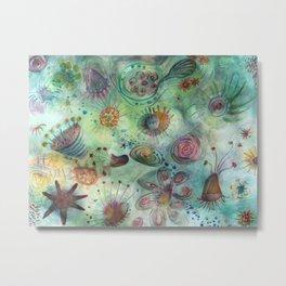 sea garden Metal Print