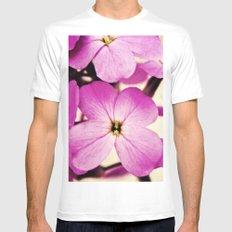 Potent Purple White MEDIUM Mens Fitted Tee
