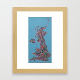 Anywhere in the UK for the price of a 1st class stamp Framed Art Print