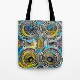 4 Pinnacle Colored Warts Tote Bag