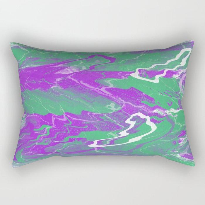 pink effect Rectangular Pillow