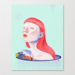 Newcomer Canvas Print