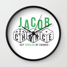 Jacob Chance Wall Clock