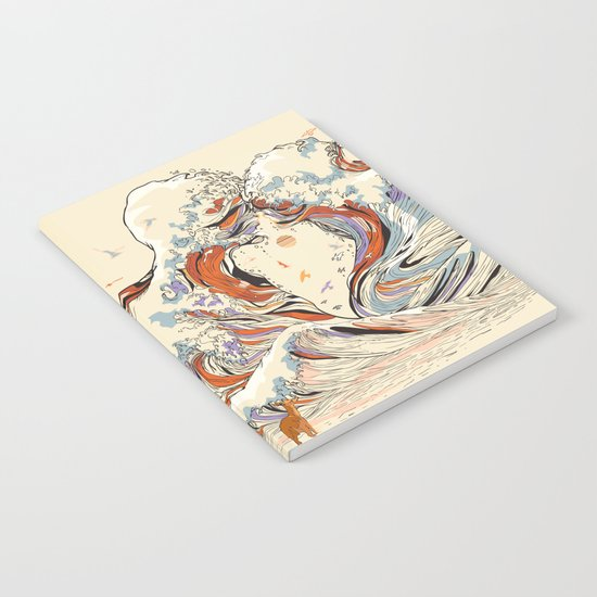 The Wave of Love Notebook