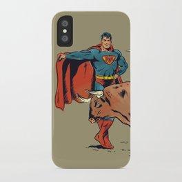 Matador of Steel iPhone Case
