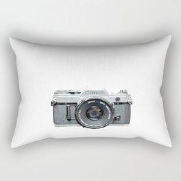 Vintage Camera Phone Rectangular Pillow