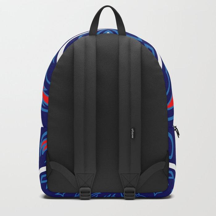 Bear Spirit (Blue) Backpack