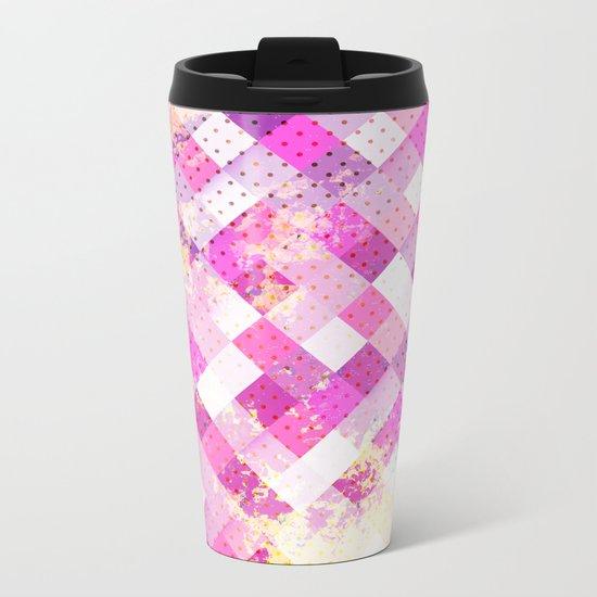 Sweet in Pink Metal Travel Mug