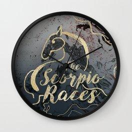 The Scorpio Races - I Will Ride Wall Clock