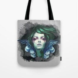 Blue Swan  Tote Bag