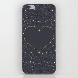 Heart Constellation iPhone Skin