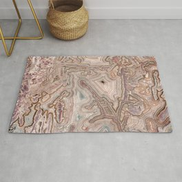 Crazy Lace Agate Mineral Rug