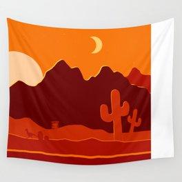 Desert Sunset Wall Tapestry