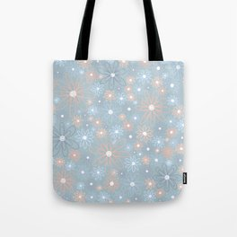 Pales and Grays Tote Bag